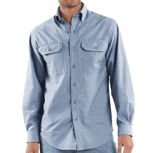 Chambray Work Shirt by Carhartt in Paper Towns
