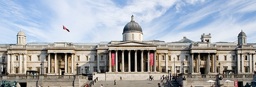 The National Gallery London, United Kingdom in The Martian