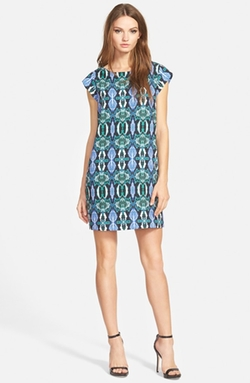 Illusion Panel Shift Dress by Sam Edelman in Pretty Little Liars