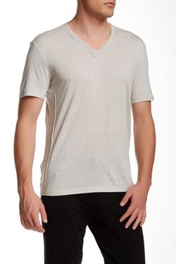 Solid V-Neck T-Shirt by Star USA By John Varvatos in Scarface