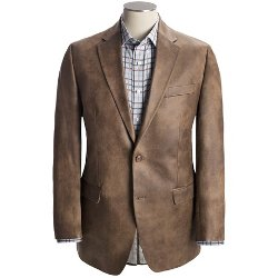 Faux-Suede Sport Coat by Lauren by Ralph Lauren in While We're Young