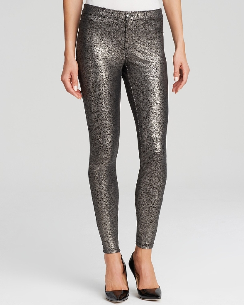 Satin Jersey Metallic Gravel Leggings by Hue in Paper Towns
