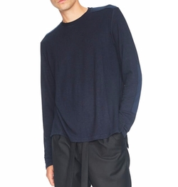 Waffle Thermal Long Sleeve Tee by Ovadia & Sons in Death Wish