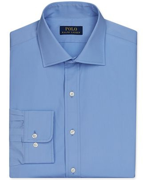 English Poplin Solid Dress Shirt by Polo Ralph Lauren in Straight Outta Compton