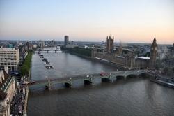 London, United Kingdom by Westminster Bridge in Survivor