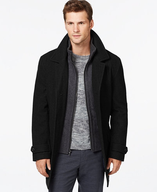 Wool-Blend Car Coat by Michael Kors  in The Purge: Election Year