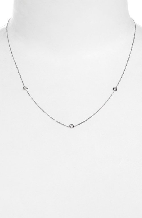 Diamond Station Necklace by Roberto Coin in Crazy, Stupid, Love.