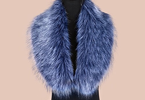 Faux Fox Fur Scarf by We Shop in Scream Queens - Season 1 Episode 4