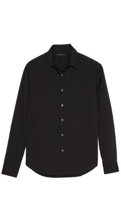 Slyvain Solid Dress Shirt by Theory in The November Man