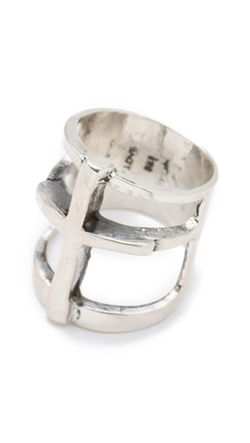 Cross Ring by Pamela Love in Love the Coopers