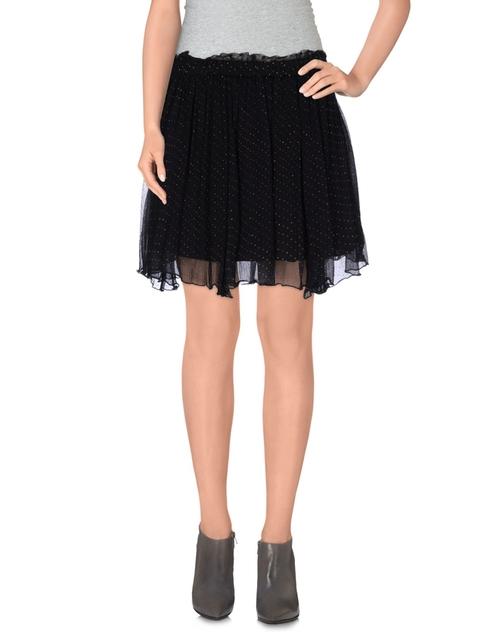 Flare Mini Skirt by Mes Demoeselles in GoldenEye