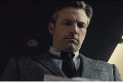 Custom Made Gray Peak Lapel Suit by Gucci in Batman v Superman: Dawn of Justice