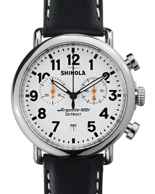 Runwell Chrono Watch by Shinola in Furious 7