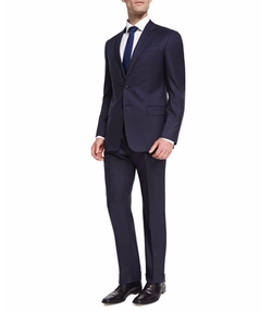 Two-Button Soft Basic Suit by Giorgio Armani in Suits