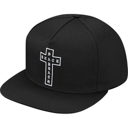 Cross 5-Panel Cap by Supreme X Black Sabbath in Keeping Up With The Kardashians