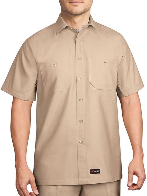 Short-Sleeve Work Shirt by Wrangler in Jurassic World