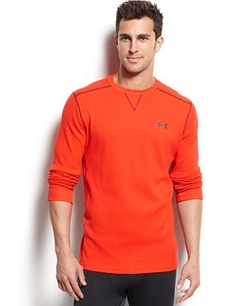 Men's Amplify Long-Sleeve Thermal T-Shirt by Under Armour in Ballers