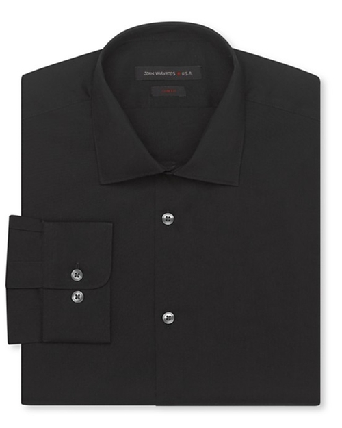 Slim Fit Solid Dress Shirt by John Varvatos Star USA in The Spy Who Loved Me