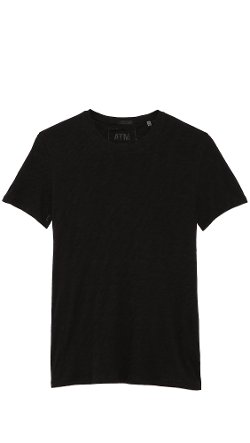 Crew Neck Slub Jersey T-Shirt by ATM Anthony Thomas Melillo in Get Hard