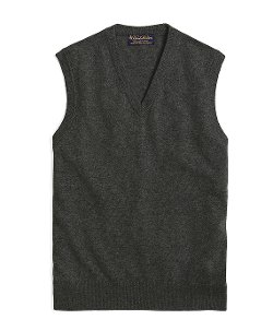 Cashmere Sweater Vest by Brooks Brothers in (500) Days of Summer