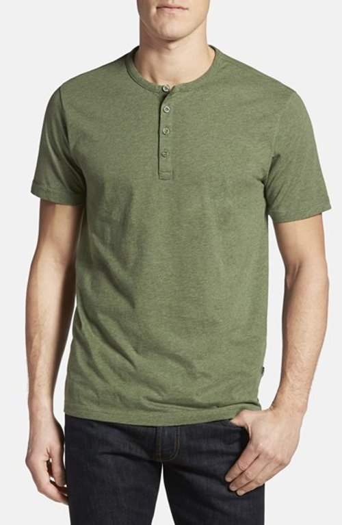 Cotton Short Sleeve Henley Shirt by Patagonia in The Divergent Series: Insurgent