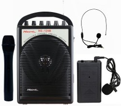 Portable PA System with Wireless Microphones by Hisonic in Pitch Perfect 2