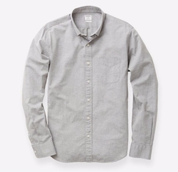 Washed Button-Down Shirt by Bonobos in Flaked