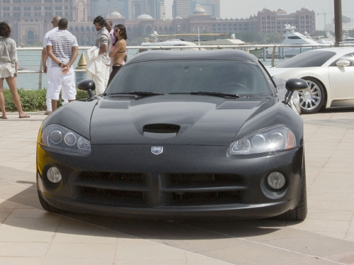 Viper SRT Coupe by Dodge in Furious 7