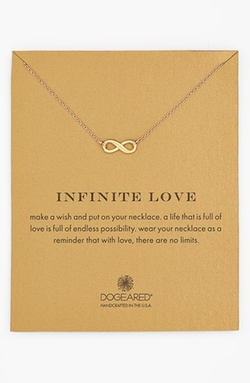 'Reminder - Infinite Love' Pendant Necklace by Dogeared in Modern Family