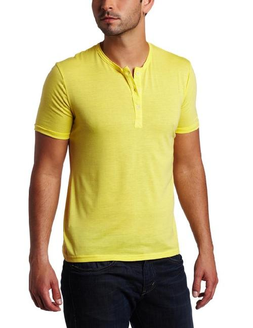 Men's Henley T-shirt by Vuthy in Million Dollar Arm