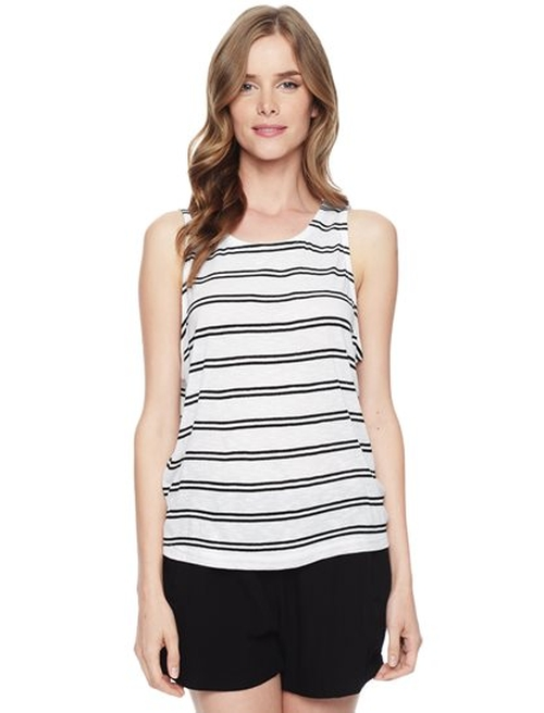 Cayman Stripe Tank Top by Splendid in Sleeping with Other People