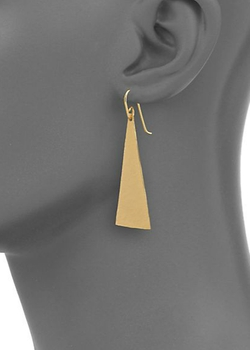Hammered Drop Earrings by Stephanie Kantis in Quantico