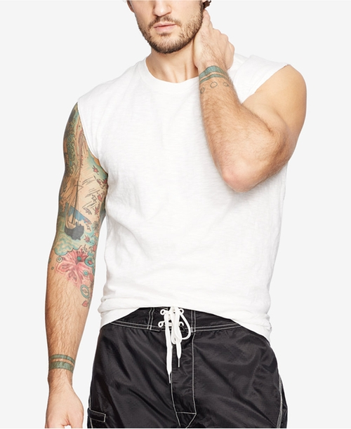 Men's Jersey Muscle T-Shirt by Denim & Supply Ralph Lauren  in Ballers - Season 2 Episode 2