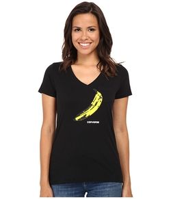 Warhol Banana V-Neck Tee by Converse in Crazy, Stupid, Love.