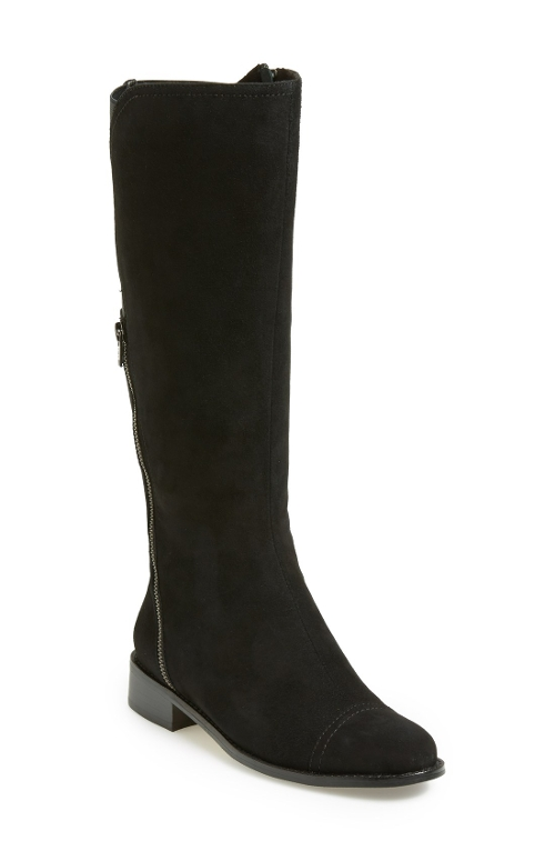 'Raoul' Suede Knee High Boots by Vaneli in Sex and the City 2