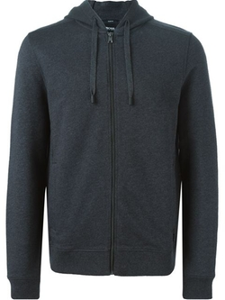 Zipped Hoodie by Boss Hugo Boss in The Mindy Project