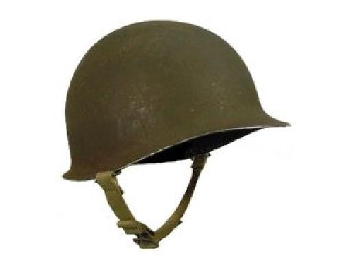 US Steel Pot Helmet by USGI in The Great Gatsby