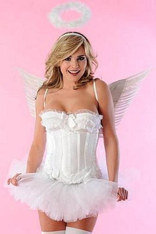 Angel Costume by Velvet Kitten in The Vampire Diaries - Season 7 Episode 4