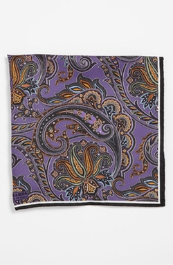 Silk Pocket Square by J.Z. Richards in Our Brand Is Crisis