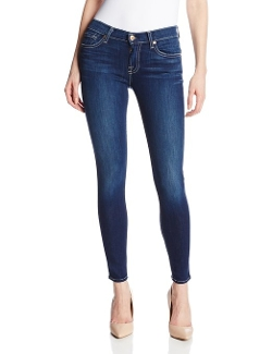Vixen Sky Ankle Skinny Jeans by 7 For All Mankind in The Longest Ride