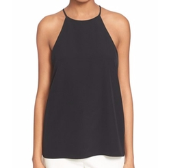 Silk Halter Top by Tibi in Pretty Little Liars