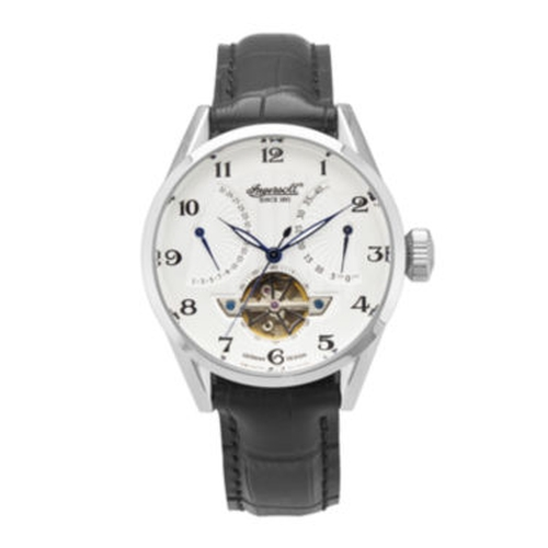 Leather Strap Automatic Watch by Ingersoll in Side Effects