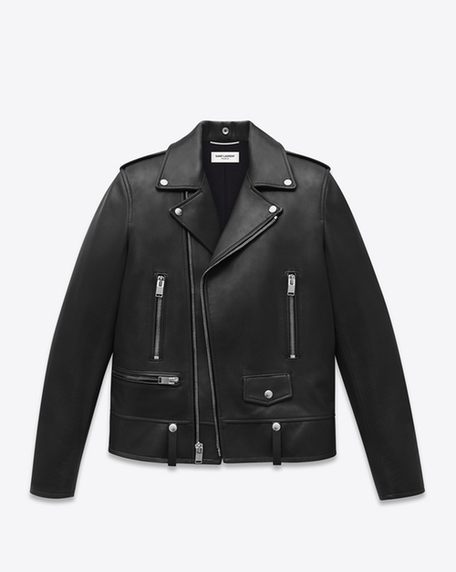 Classic Motorcycle Jacket by Saint Laurent in Master of None