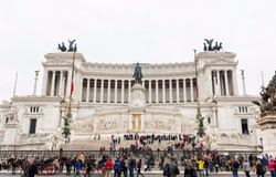 Rome, Italy by Altar Of The Fatherland in John Wick: Chapter 2