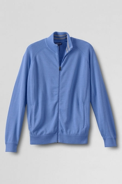 Men's Big Track Jacket by Land's End in The Big Bang Theory