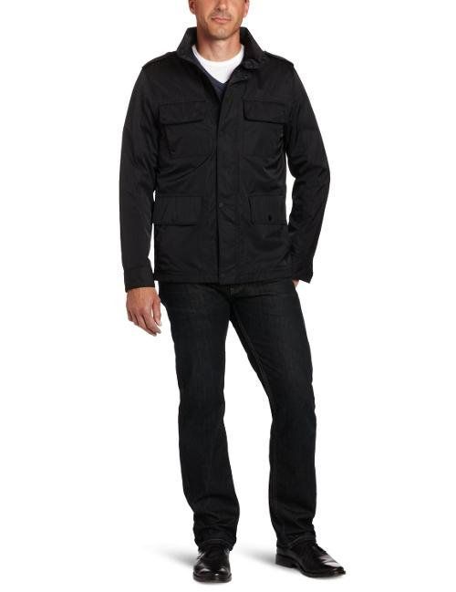 Men's Light Four Pocket Field Jacket by Tommy Hilfiger in A Walk Among The Tombstones