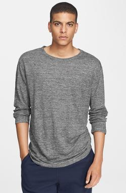 Long Sleeve Heathered Linen T-Shirt by T by Alexander Wang in The Expendables 3