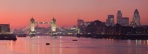 River Thames London, United Kingdom in The World is Not Enough