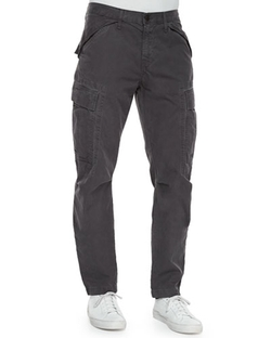 Collins Cargo-Pocket Utility Jogger Pants by J Brand Jeans in Deadpool