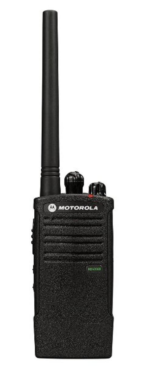 Water-Resistant Two-Way Business Radio by Motorola Solutions in Jurassic World